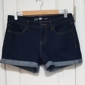 Old Navy Cuffed Denim Shorts